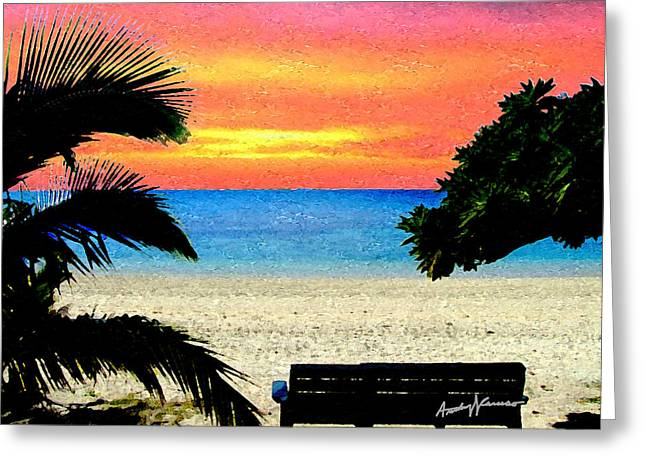Pensive Place 2 Greeting Card by Anthony Caruso