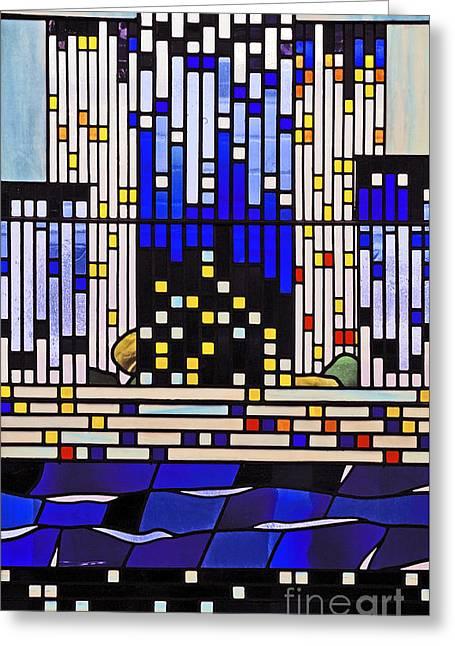 Pentecost IIi. Greeting Card by Stan Pritchard