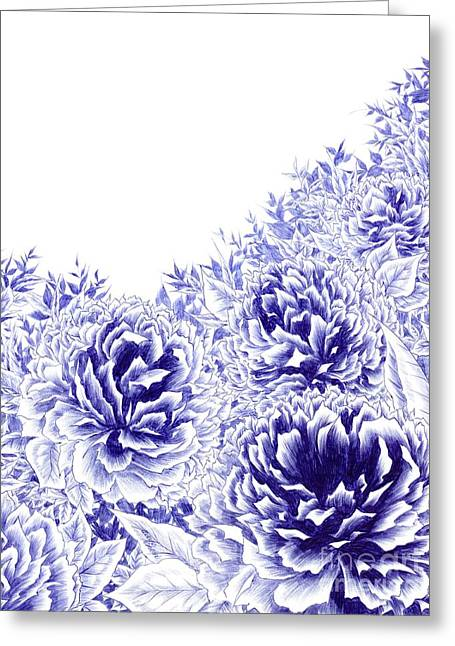 Peony Dream Greeting Card