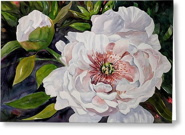 Peony Pals Greeting Card