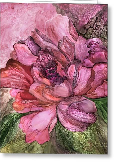 Peony Pink - Organica Greeting Card
