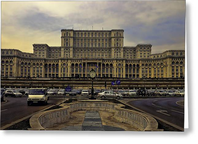 Greeting Card featuring the photograph People's Palace by Rob Tullis