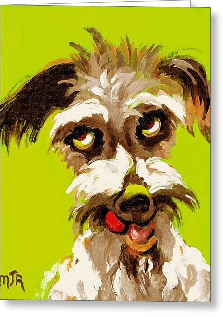 Pepper Greeting Card