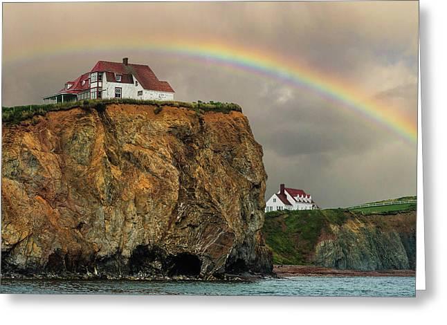 Perce Rainbow Greeting Card