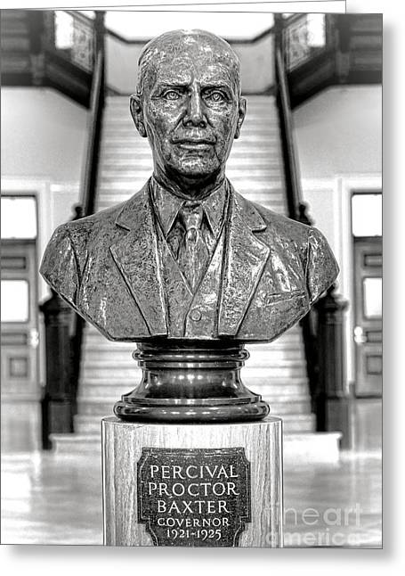 Percival Proctor Baxter Greeting Card