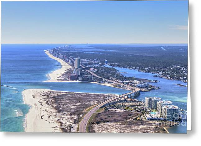 Perdido Pass Bridge 4319 Greeting Card