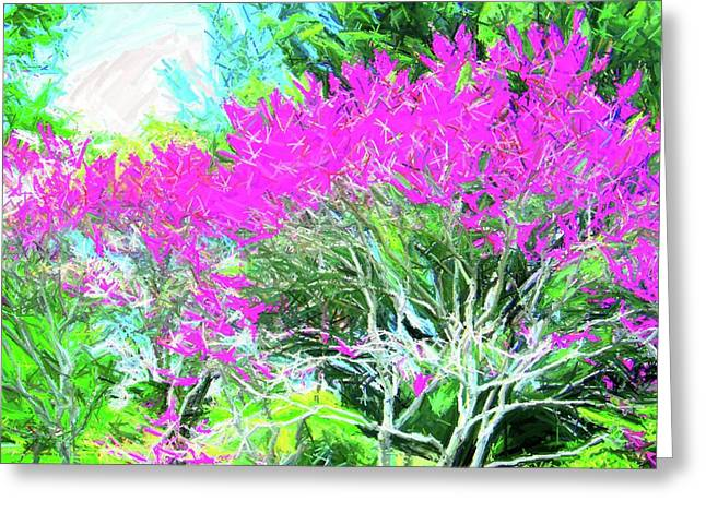 Greeting Card featuring the photograph Perennial Garden by Susan Carella