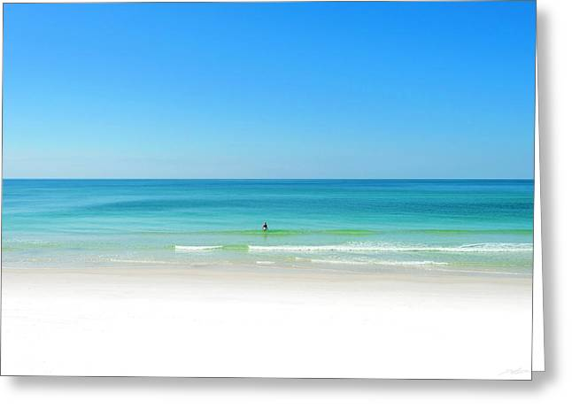 Perfect Beach Day Greeting Card