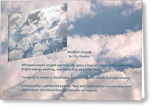 Perfect Clouds Greeting Card