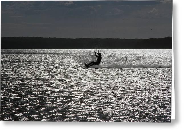 Greeting Card featuring the photograph Perfect Light At Lake Wollumboola by Miroslava Jurcik