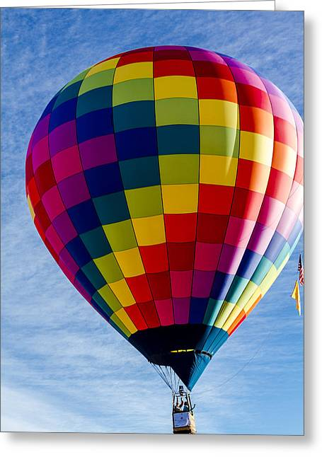 Perfect Morning Take Off Greeting Card by Teri Virbickis