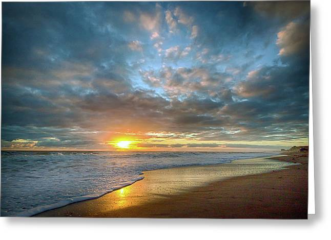 Perfect Start Sunrise Greeting Card
