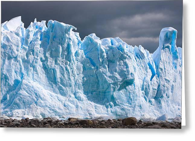 Perito Moreno Glacier - Patagonia Greeting Card