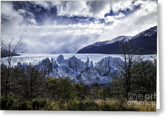 Perito Moreno Glacier 7 Greeting Card by Timothy Hacker