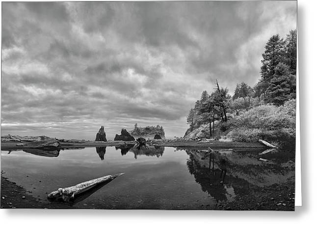 Perpetual Transition Greeting Card by Jon Glaser