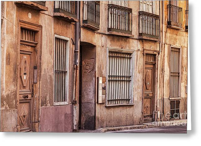 Perpignan France Greeting Card by Colin and Linda McKie