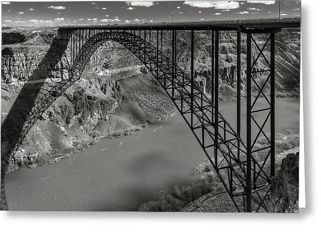Perrine Bridge, Twin Falls, Idaho Greeting Card
