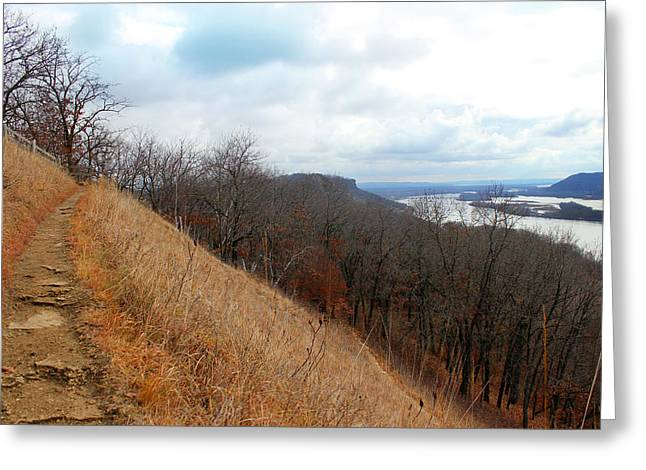 Perrot State Park Mississippi River 5 Greeting Card