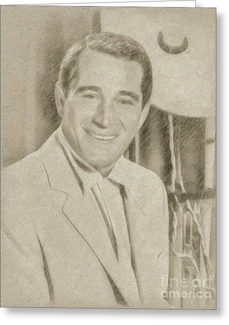 Perry Como, Singer Greeting Card