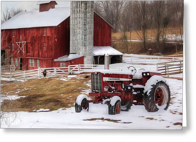 Perry County Farm Greeting Card by Lori Deiter