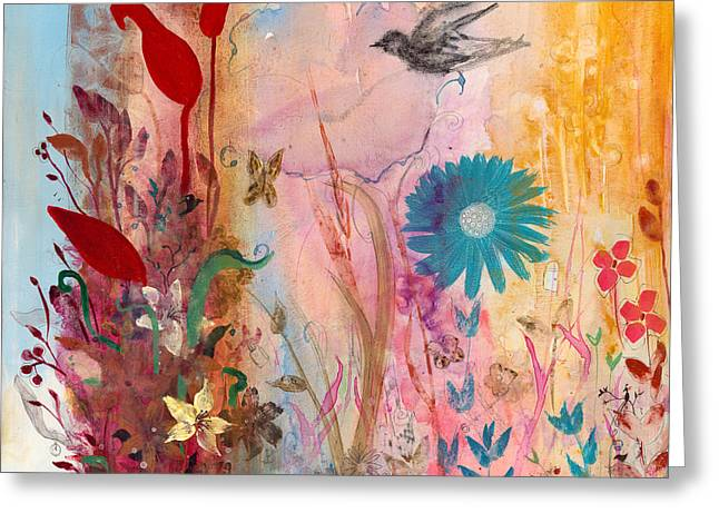 Persephone's Splendor Greeting Card