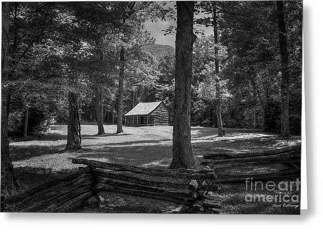Perseverance Cades Cove Great Smoky Mountains National Park Art Greeting Card