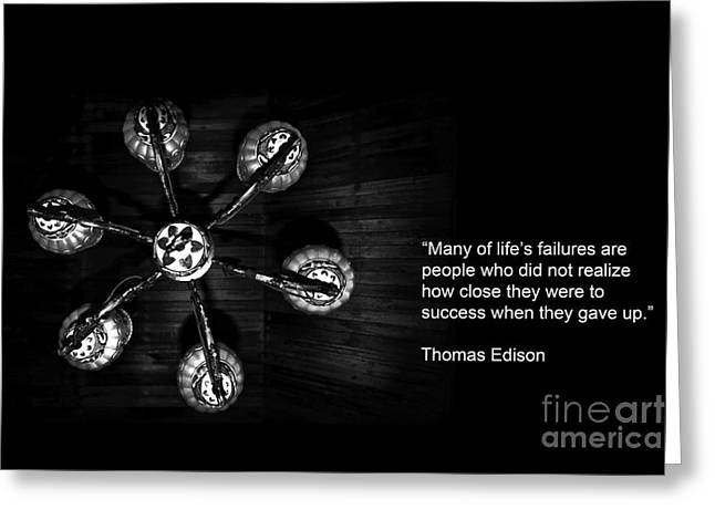 Persistence Greeting Card by Charuhas Images