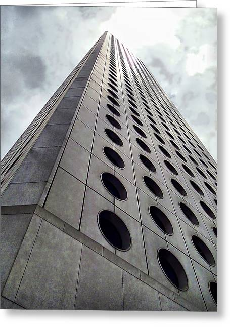 Greeting Card featuring the photograph Perspective by Blair Wainman