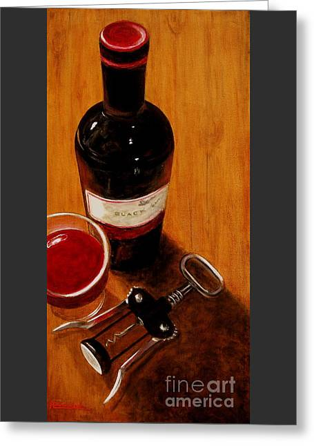 Wine Perspective Greeting Card