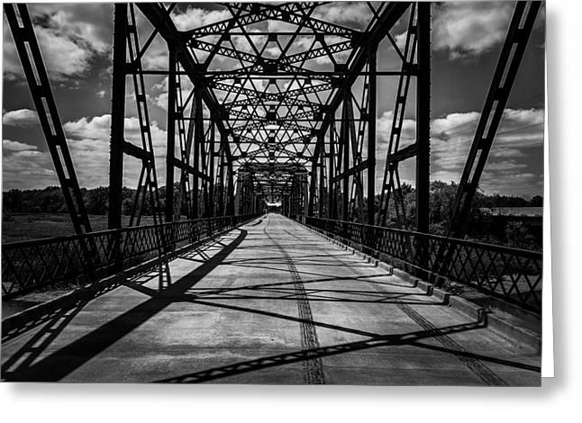 Perspective Greeting Card by Lance Kenyon