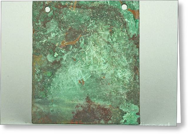Peru Copper  Greeting Card by MotionAge Designs
