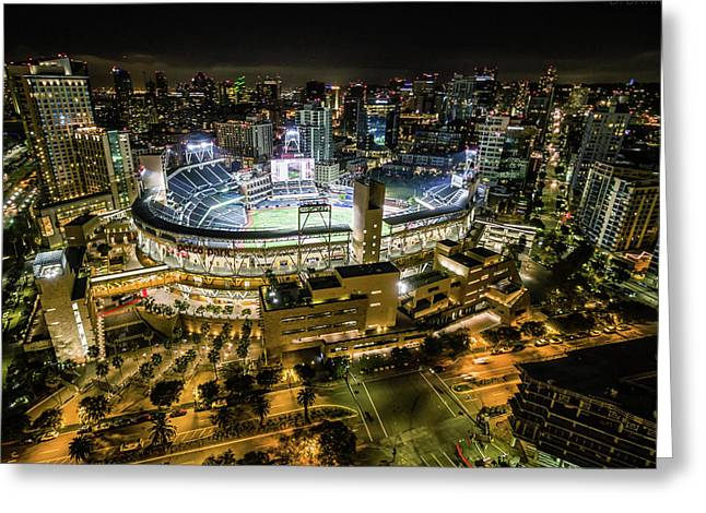 Petco Park Greeting Card by Doug Barr