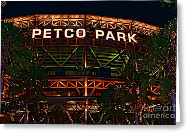 Petco Park Photographs Greeting Cards - Petco Park Greeting Card by RJ Aguilar