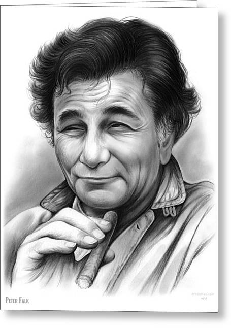 Peter Falk Greeting Card