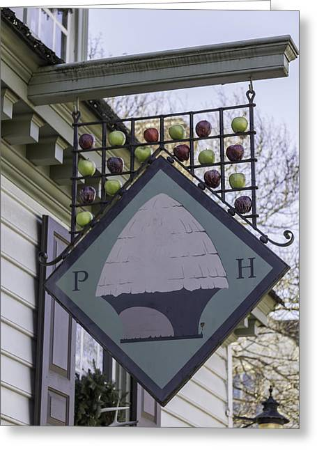 Peter Hay Kitchen Sign Greeting Card