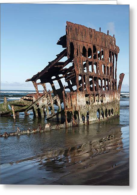 Peter Iredale 6288 Greeting Card