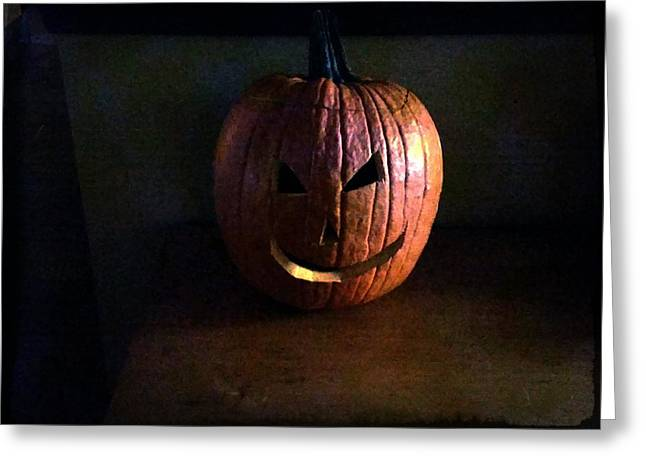 Peter Peter Pumpkin Eater Greeting Card by Michael L Kimble