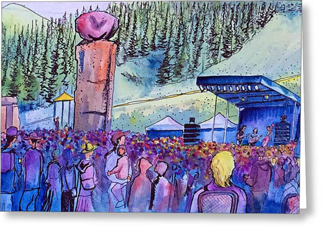 Peter Rowen At Copper Mountain Greeting Card