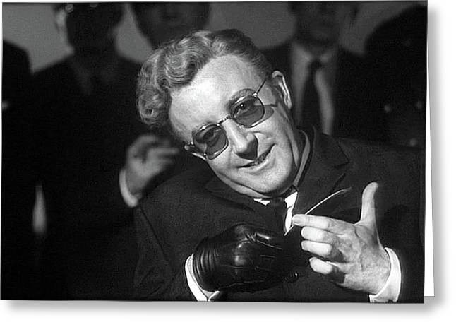 Peter Sellers As Dr. Strangelove Number One Color Added 2016 Greeting Card