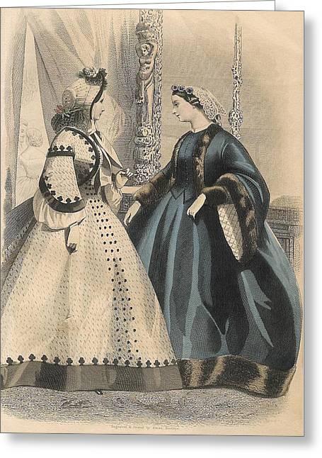 Peterson 1861 #6 Greeting Card by Karen Szatkowski