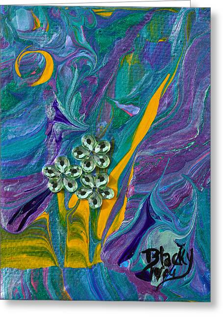 Petite Fleur Greeting Card
