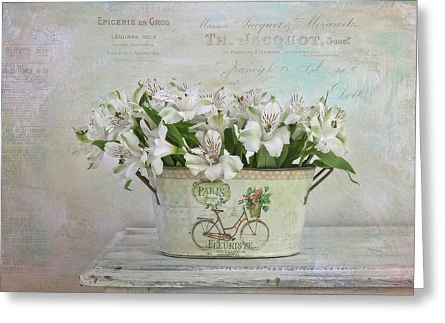Petite Fleurs Greeting Card by Kim Hojnacki