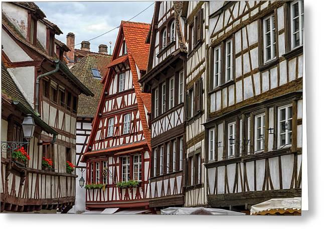 Petite France Houses, Strasbourg Greeting Card