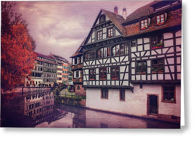Petite France In Strasbourg  Greeting Card