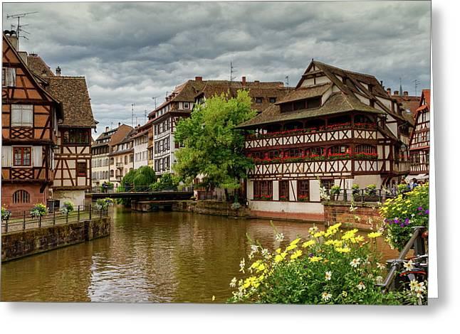 Petite France, Strasbourg Greeting Card by Elenarts - Elena Duvernay photo