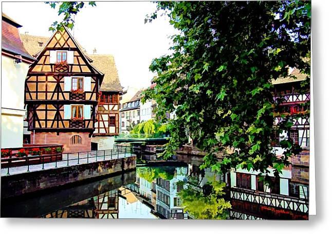 Petite France - Strassbourg, France Greeting Card