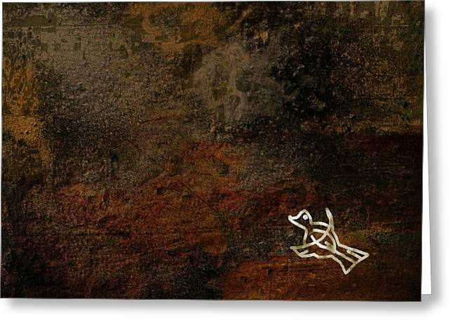 Petroglyph 5 Greeting Card