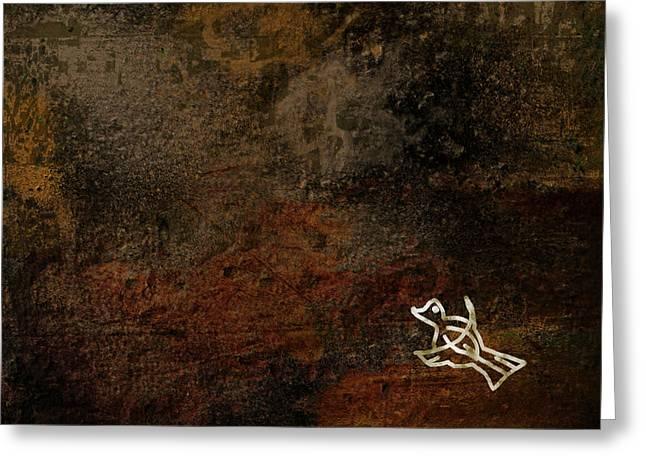 Petroglyph 5 Greeting Card