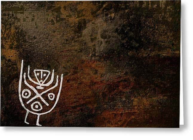 Petroglyph 7 Greeting Card