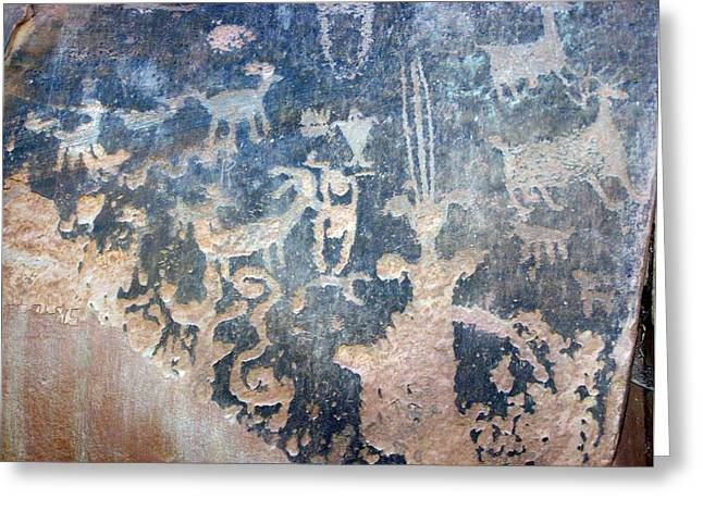 Petroglyph Greeting Card